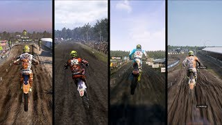 MXGP vs MXGP 2 vs MXGP 3 vs MXGP PRO - Gameplay Comparison HD