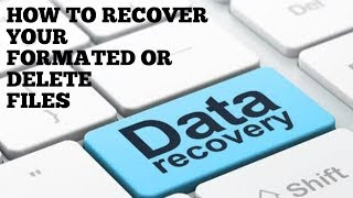 Free data recovery software helps to recover your deleted or formated files like photos ,videos etc