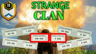 Strange Clan in Clash Of Clans | must watch | Mr.Clasher
