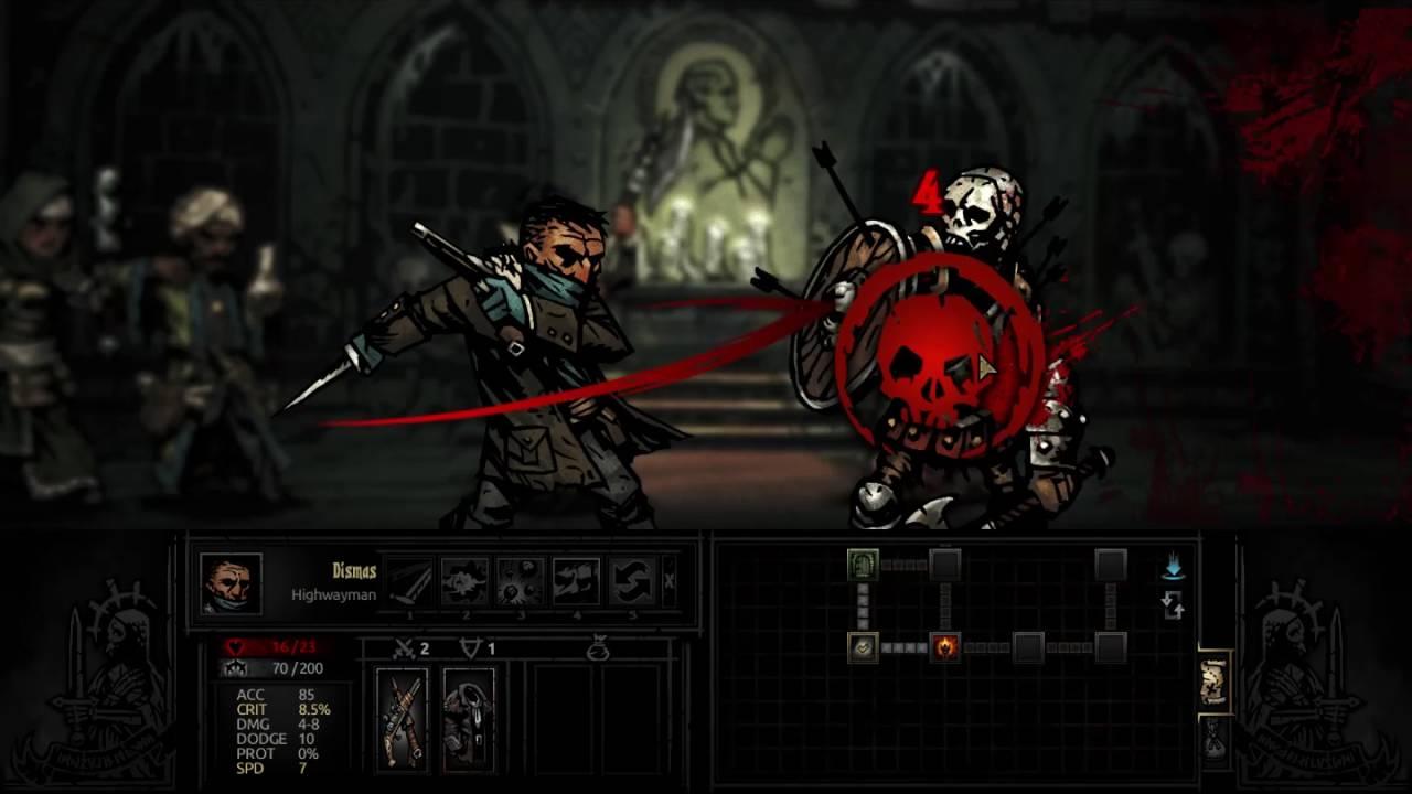Darkest Dungeon New game! #1(Darkest Meme) - YouTube