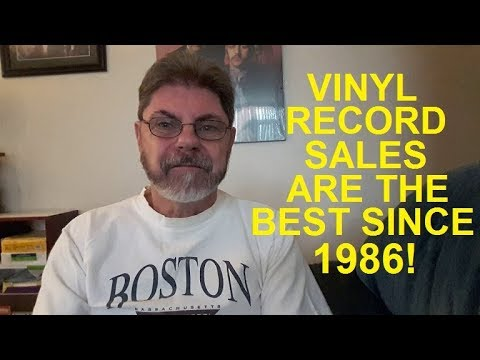 History in the making!  Vinyl outsells CDs! Mp3