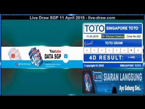LIVE DRAW SGP 4D Result Singapura t