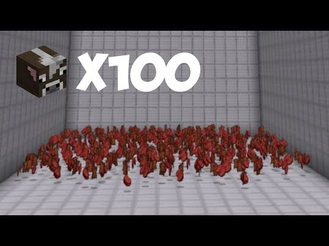I Killed 100 Cows... |