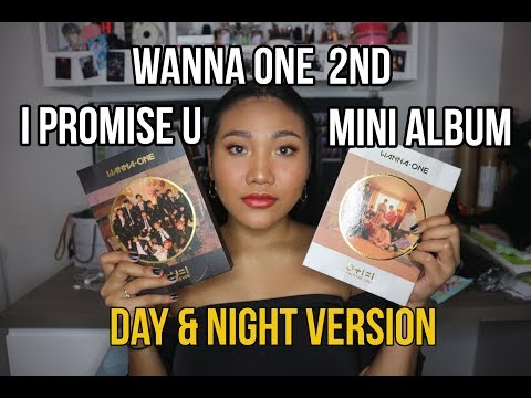 [UNBOXING] WANNA ONE 워너원 I PROMISE YOU 2ND MINI ALBUM (DAY & NIGHT VERSION)
