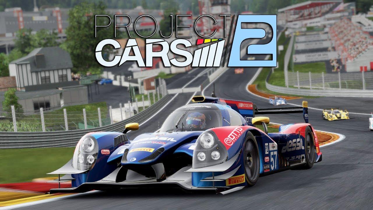 Project CARS 2 WIP | Lmp2 Race | Ligier JS P2 Judd @ Spa ...