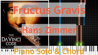 🎹Solo & Chord, Fructus Gravis, Hans Zimmer, Synthesia Piano