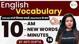 English Vocabulary   \