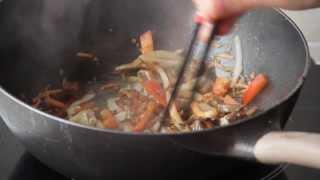 Рис с телятиной Хот - китайская еда в коробочках