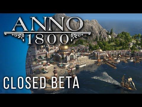 Anno 1800 Gameplay (Closed Beta)