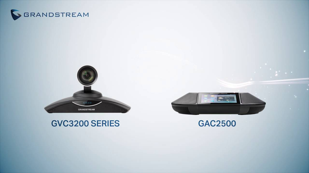 Grandstream Networks - IP Voice, Data, Video & Security