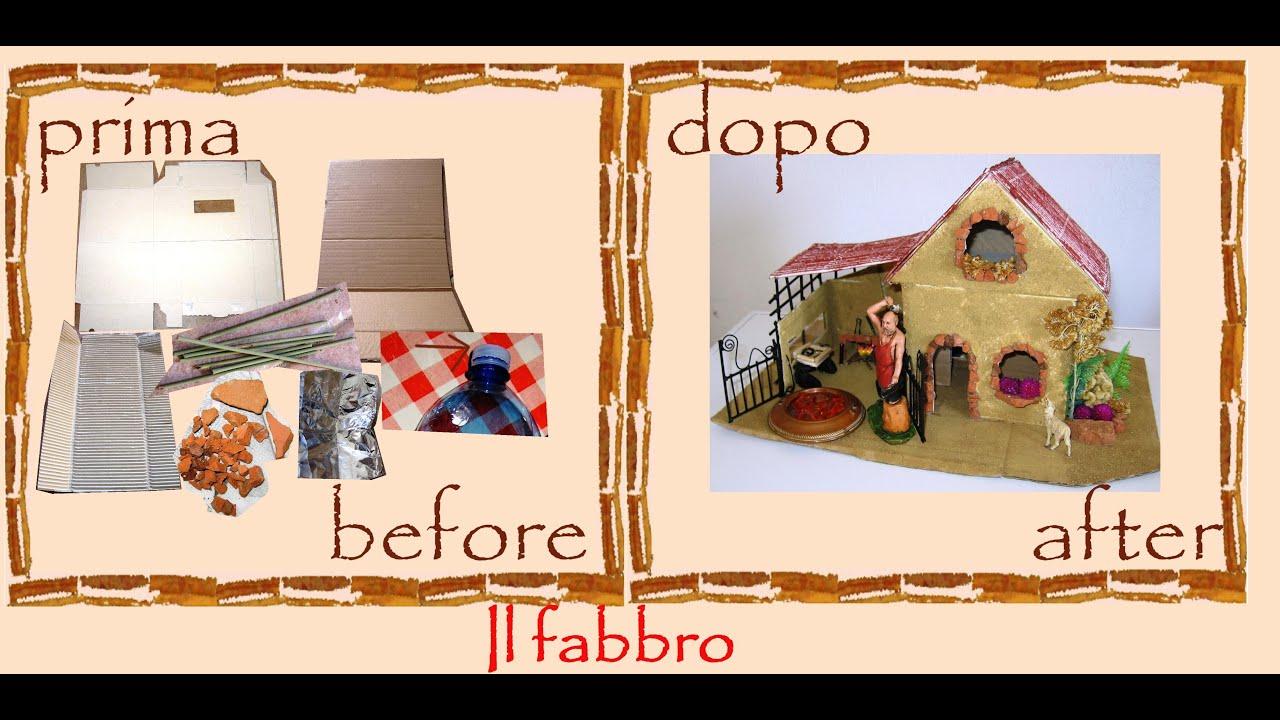 Bien-aimé Creative recycling cardboard, bricks, rush: Christmas blacksmith  IP55