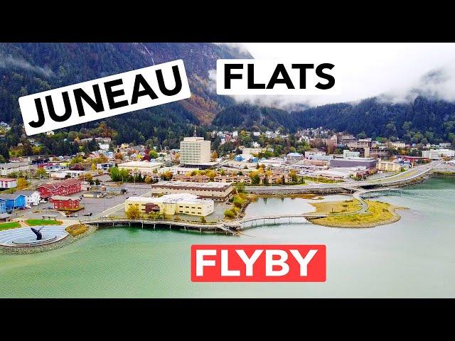 Juneau Flats & Seawalk Flyby