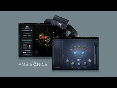 How to mix audio for 360° videos and VR with Waves B360 and Nx