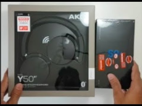 New Samsung S9 Plus And Akg Headphones Unboxing Youtube
