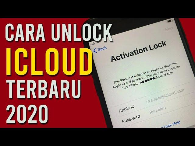 Full Unlock iCloud Activation Lock   Jailbreak iOS 13.6