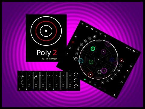 Poly 2 - Generative Sequencer - Live iPad Tutorial & Demo