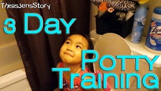 Vlog EPI - 89 - 3 Day Potty Training