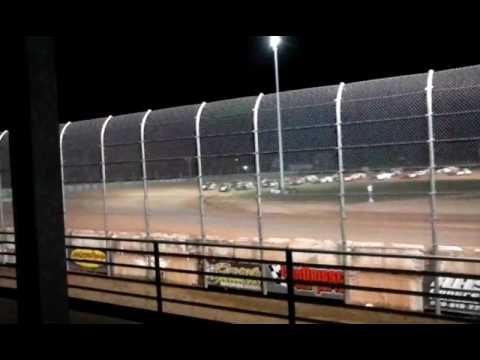 IMCA Modified feature Luxemburg Speedway 8-26-16 (In loving memory of Matt Shoe)
