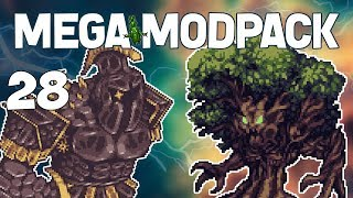 Terraria # 28 SMASHED TV! Mega Modpack Let's Play