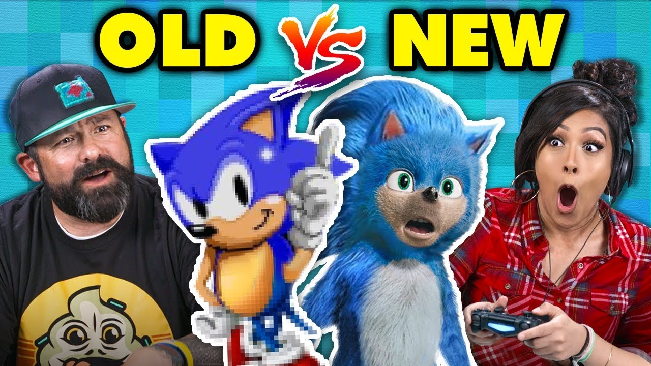 What Happened To Sonic The Hedgehog Old Vs New React Gaming Youtube