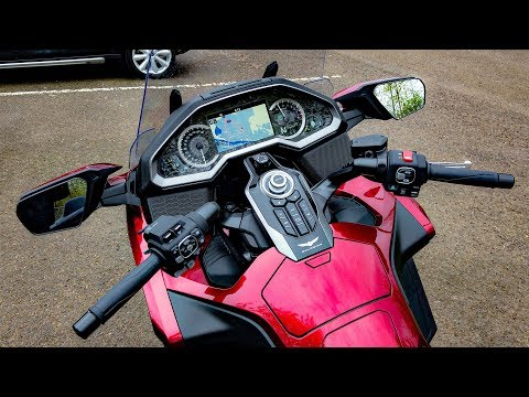 Gold Wing DCT 1st Ride!! • It Couldn't Be More Epic..! | TheSmoaks Vlog_883
