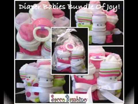 DIY Baby Girl Shower Gift Decorating Ideas