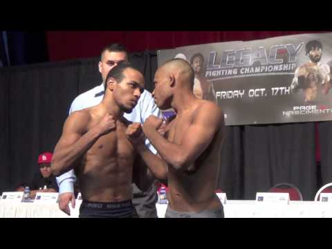 Legacy FC 36 (Albuquerque) Weigh in
