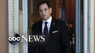 Republican senators come together for GOP tax bill