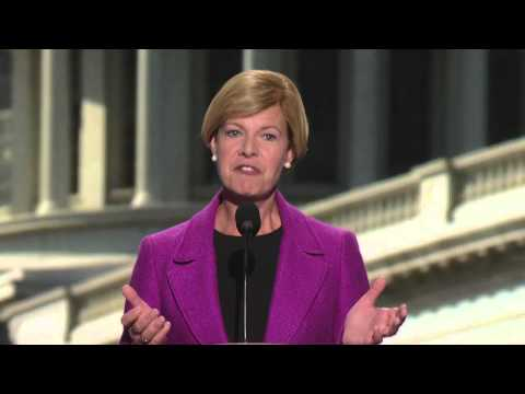 Congresswoman Tammy Baldwin at the 2012 Democratic National Convention