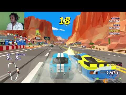HOTSHOT RACING (NOT A BAD GAME) |