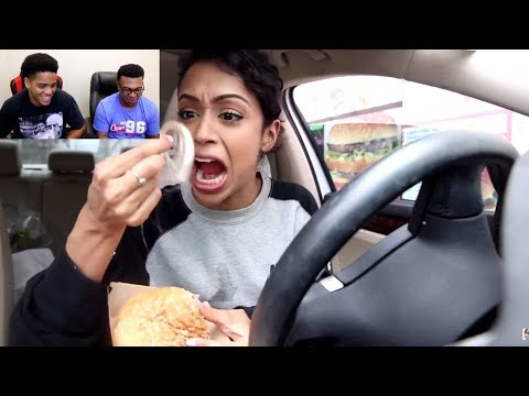 Thumbnail: Liza Koshy | THIS WENT WRONG!! DRIVE THRU WITH LIZA! | REACTION