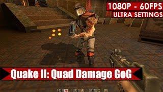 Quake II: Quad Damage GoG gameplay PC HD [1080p/60fps]