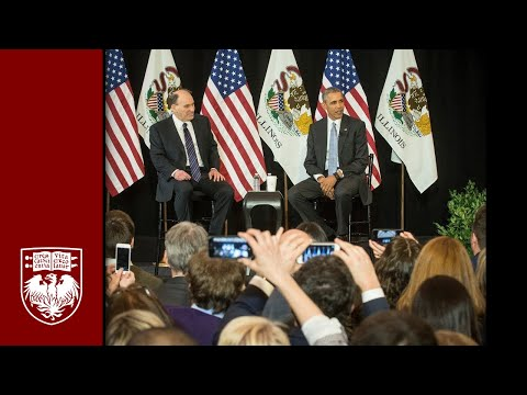 President Obama returns to University of Chicago Law School
