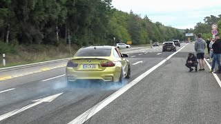Best Of Cars Leaving Nürburgring Tankstelle 2020 - Burnouts, Accelerations! BMW M, JDM, Supercars..!
