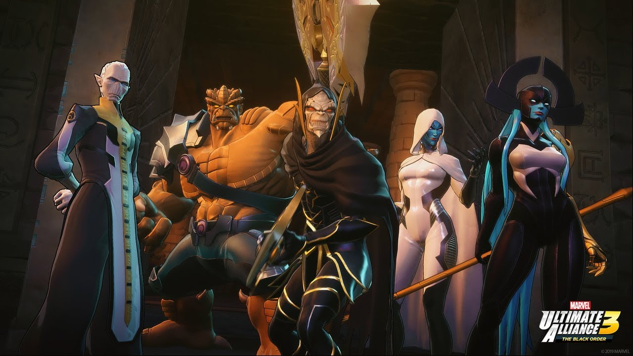 Marvel Ultimate Alliance 3: The Black Order | Story