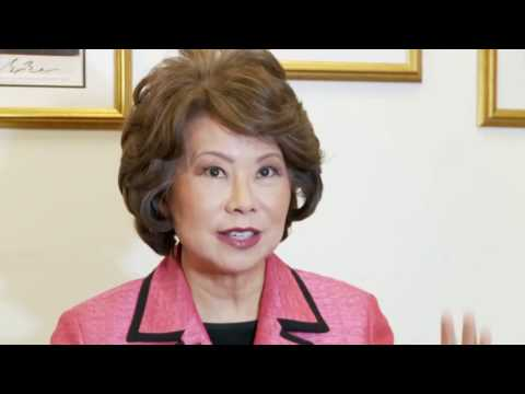 Interview with Elaine L. Chao (part 2)