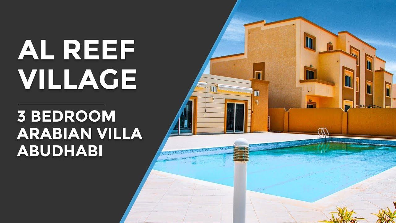Arabian Bedroom Al Reef Villa 3 Bedrooms Arabian Village Abu Dhabi