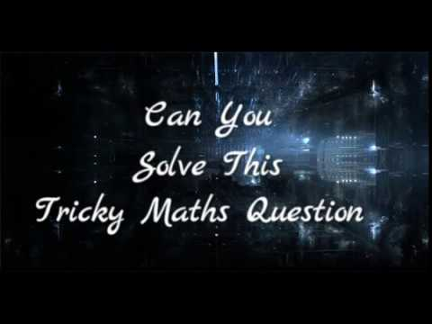 Can you Solve This Tricky Math Question - 1 Maths Puzzle