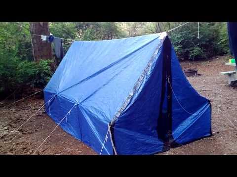 Секс в палатке видео думаю
