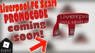 LIVERPOOL FC SCARF coming soon? | Roblox |