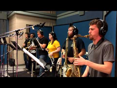 Salsa Band Recording Session -