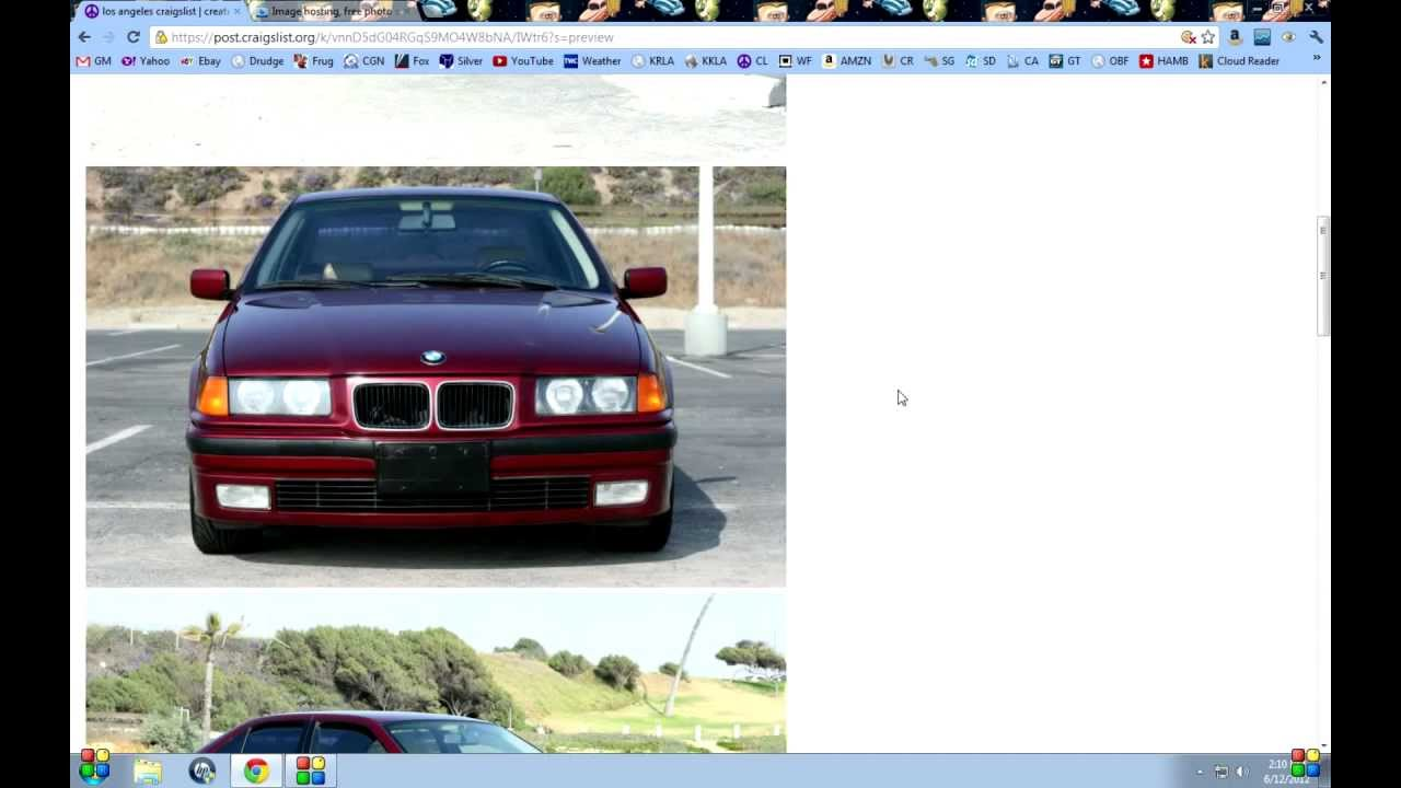 How To Correctly List Your Car Truck Or Anything Else On - May best craigslist ad car ever