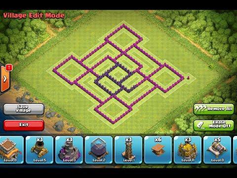 War Best Base Wn Hall Level
