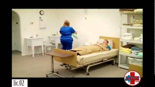 Repeat youtube video Assist Resident with Bedpan CNA Skills