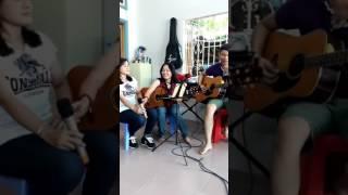 Người Tình Không Đến. Guitar Lê Bá Nhật & Lục Bình Tím