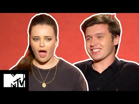 Katherine Langford & Nick Robinson Go SPEED DATING  MTV Movies