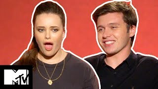 Katherine Langford & Nick Robinson Go SPEED DATING | MTV Movies