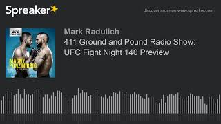 411 Ground and Pound Radio Show: UFC Fight Night 140 Preview
