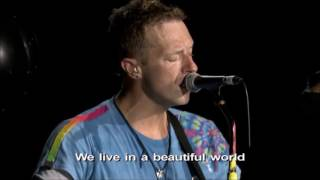 coldplay band introduction dont panic los angeles ca august 20th 2016