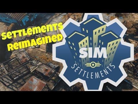 Sim Settlements: Settlements Reimagined! | Fallout 4 Mod |